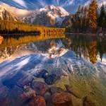 Leigh Lake Reflections