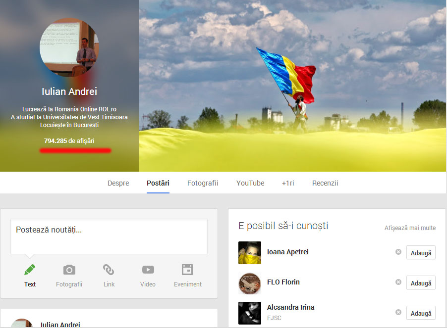 afisari_pe_Google+