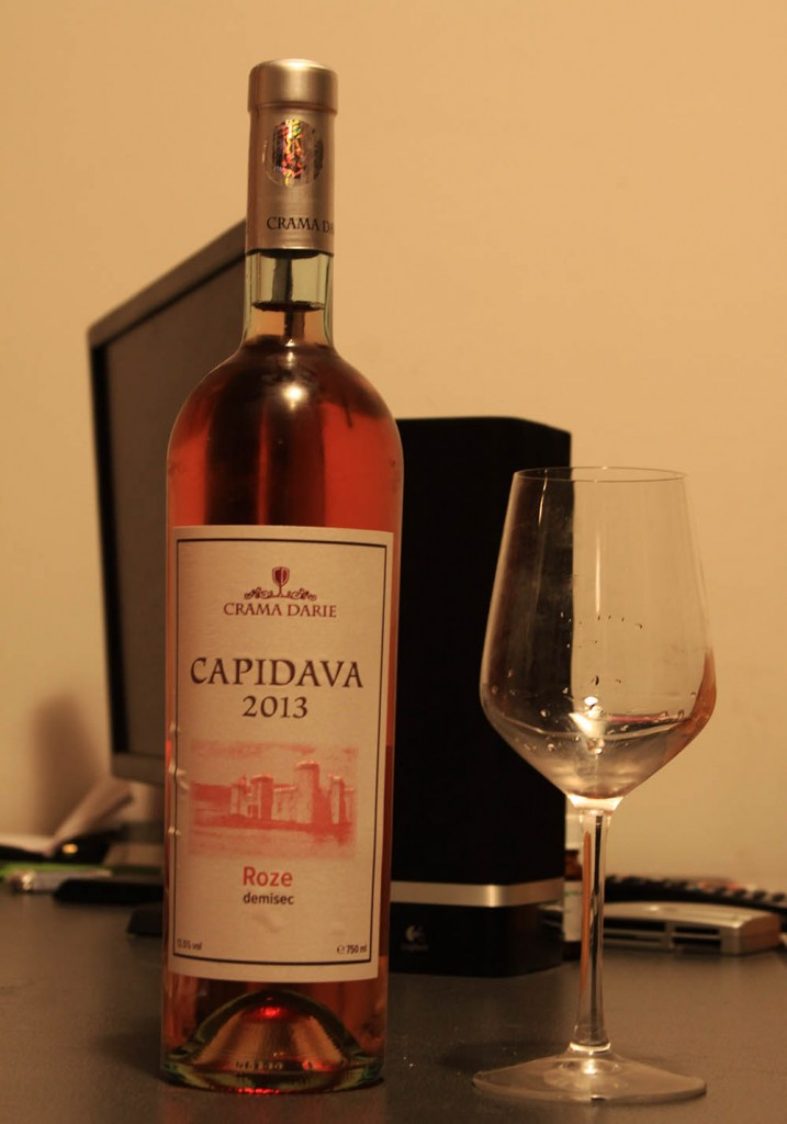 Vin rose antic, gust fermecător