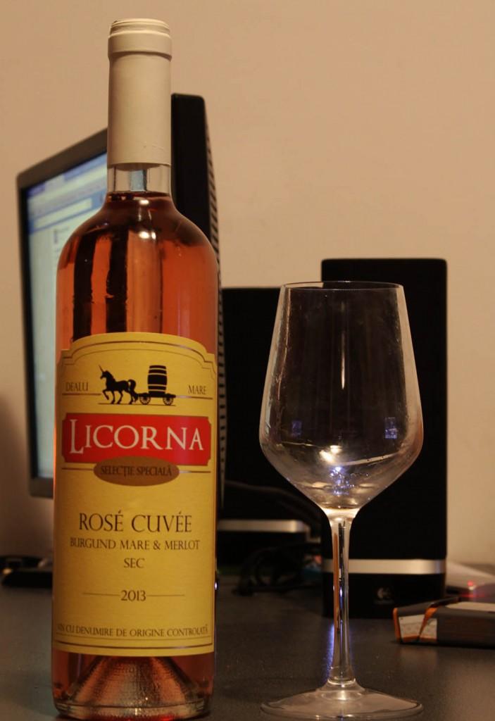Licorna Rose Cuvee Burgund Mare  Merlot