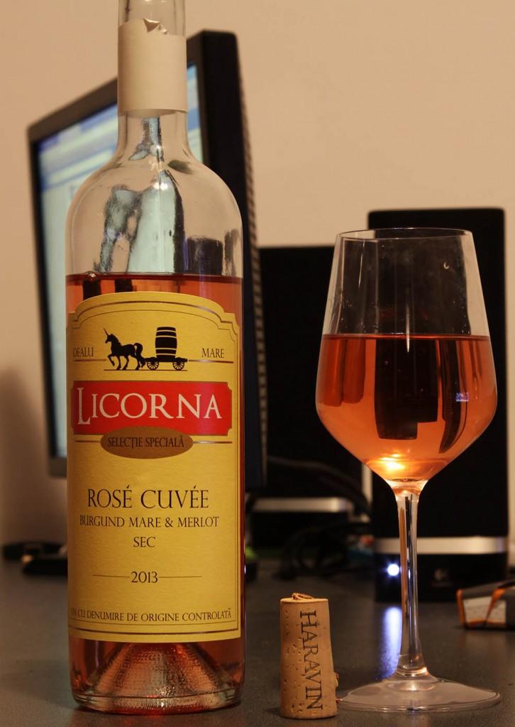 Vin Rose Sec Licorna