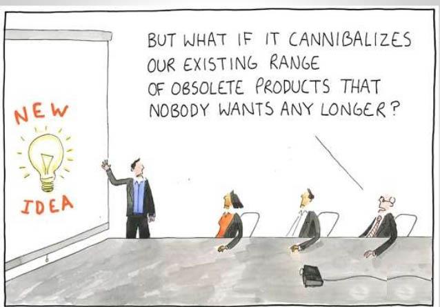 Canibalizarea online mediile online